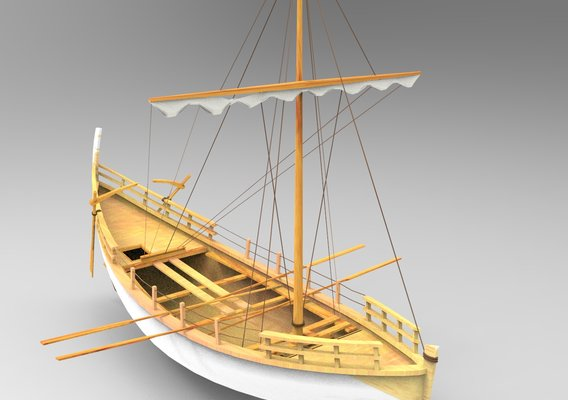 Ancient Egyptian Boat