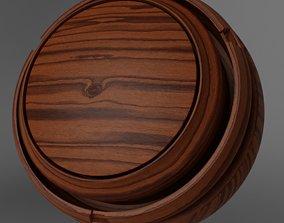 3D Free Seamless PBR Wood - Medium 001