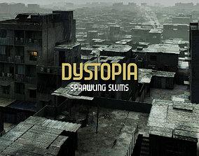 3D model Sprawling Slums