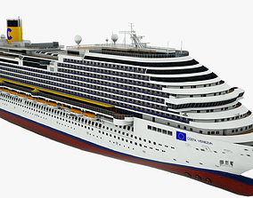 Cruise ship Costa Venezia 3D model