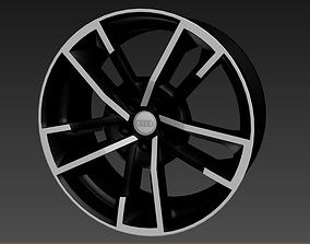 Wheel for Audi S8 3D model