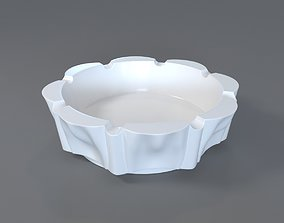 Decorative Ashtray 3D print model glass