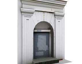 3D asset Architectural photorealistic portal lowpoly