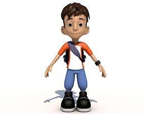 child 3D Cartoon Kid Character