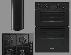BOSCH and MAUNFELD home appliances 3D