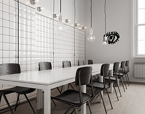 3D Ikea Chair Scene for Cinema 4D and Corona Renderer