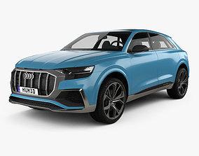3D model Audi Q8 concept 2017