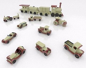 3D Toy Cars package