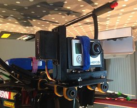 Gimbal for multicopter 3D printable model