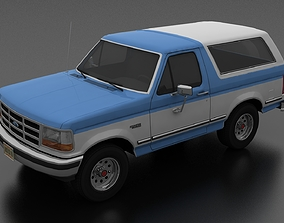 3D model Bronco 1992-1997