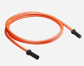 Jump Rope Subdiv Ready 3D asset