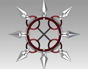 Kingdom Hearts Organization XII Number 3D print model 2