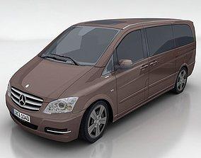 3D asset Mercedes Viano