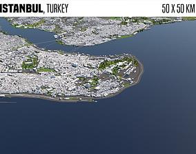 Istanbul Turkey 3D model
