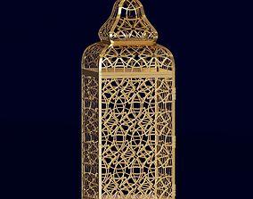 3D Ornate Moroccan lantern