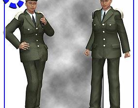 Dress Uniform V4 for Poser 3D