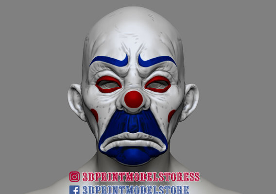 Dark Knight Clown Helmet