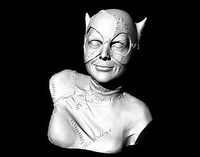 Catwoman Buste 3D printable model