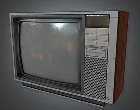 3D model 80s - Television Retro 02