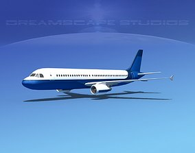 3D asset Airbus A320 LP Corporate 7