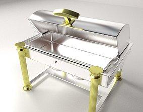 3D model Oblong Chaffing Dish