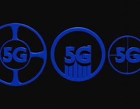 5g connection 2 3D model
