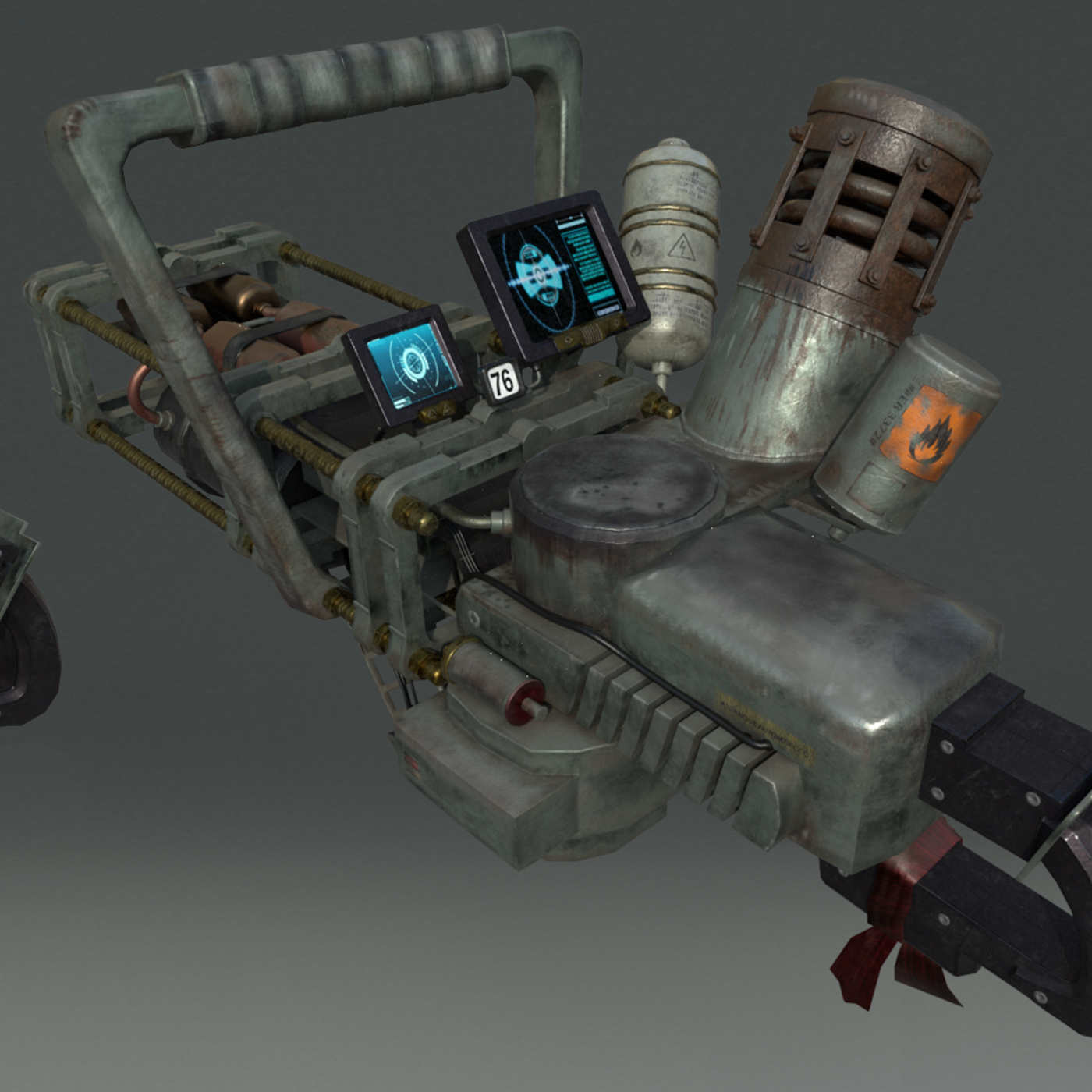 3D Vehicles and Weapons