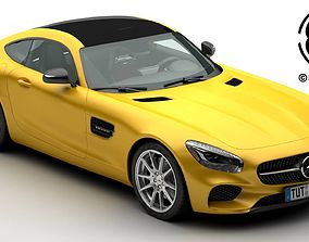 3D Mercedes AMG GT 2015 EU and US version