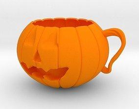 Pumpkin Cup 3D print model