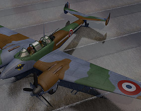 3D Potez 631 fighter