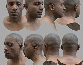3D model AAA Quality Realistic African American Male Scan