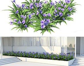 Blue Flower 3D model