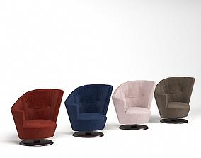 Giorgetti Arabella armchair 3D