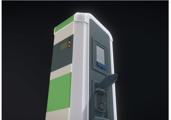 Electric Vehicle Charging Station 1