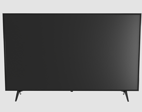 3D asset VR / AR ready TV LED Low Poly