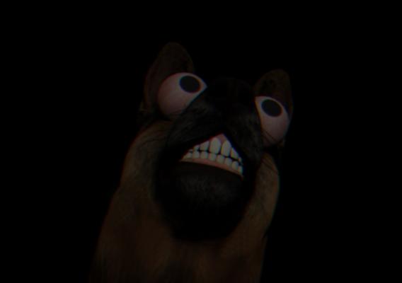 Smile. Dog.