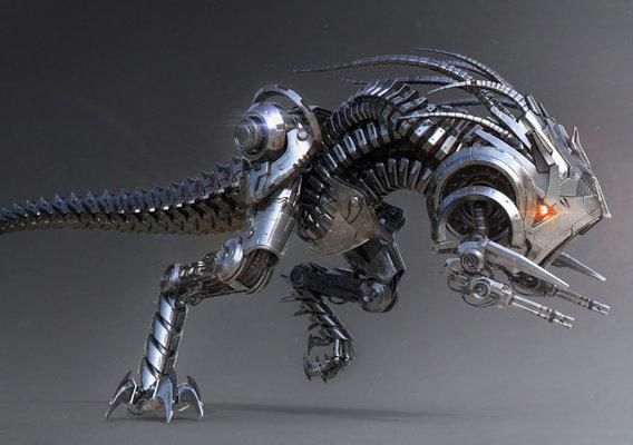 Dino 2.0 by Victoria Passariello