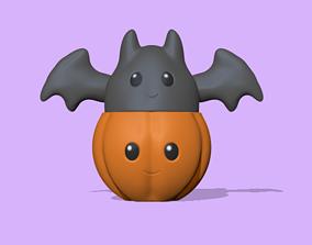 3D printable model Halloween - Pumpkin pot to decorate and