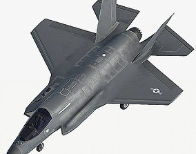 F35B fighter 3D asset