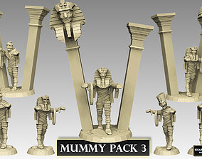 3D printable model Mummy Pack 3
