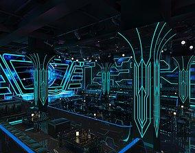3D model Lounge Night Club 1