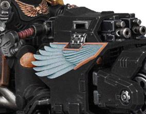 3D printable model Wings for converting primaris 2