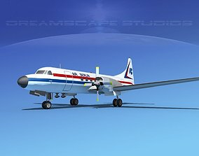 Convair CV-580 Air Berlin 3D