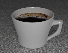 dining coffee cup 3D printable model