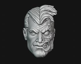 dccomic 3D printable model Two-Face