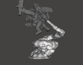 3D printable model Stormboyz Rokkit Pack Smoke Stand