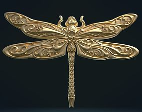 3D print model Dragonfly Relief
