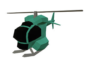 3D printable model the one helicopter