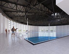 3D model Swimmingplace