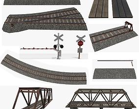 3D asset Railroad Pack